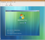 Der Virtual Machine Manager: Installation des Gast-Systems.